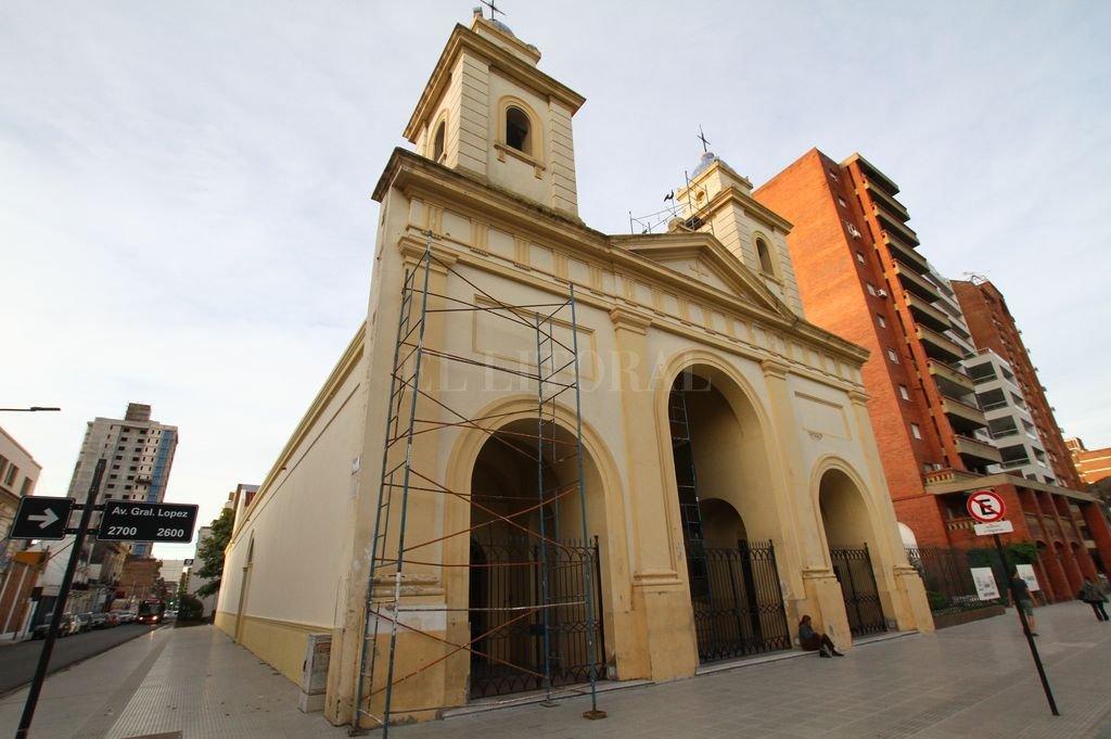 La Provincia contrató la puesta en valor de la fachada.  <strong>Foto:</strong> Pablo Aguirre