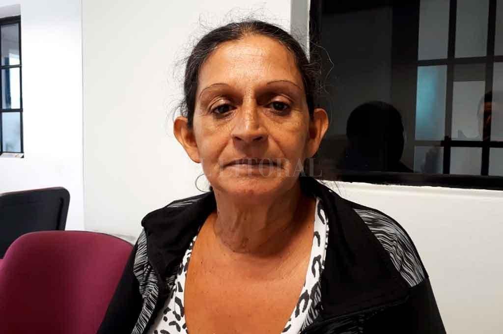 """Sonia Rodríguez teme por su vida y la de sus nietos. """"Hace 1 año que vivo un infierno"""", dice. Crédito: Danilo Chiapello"""