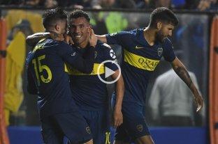 Boca le ganó a Atlético Paranaense y puede ser rival de River en octavos
