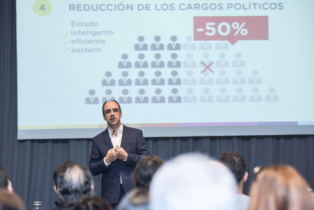 Corral presentará sus propuestas económicas. <strong>Foto:</strong> Prensa Cambiemos