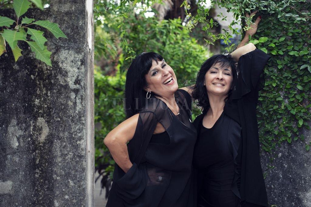 Tangos, milongas, canciones litoraleñas y rancheras se fusionan en la voz de Barrios y Eletti.  <strong>Foto:</strong> Gentileza Victoria Vázquez