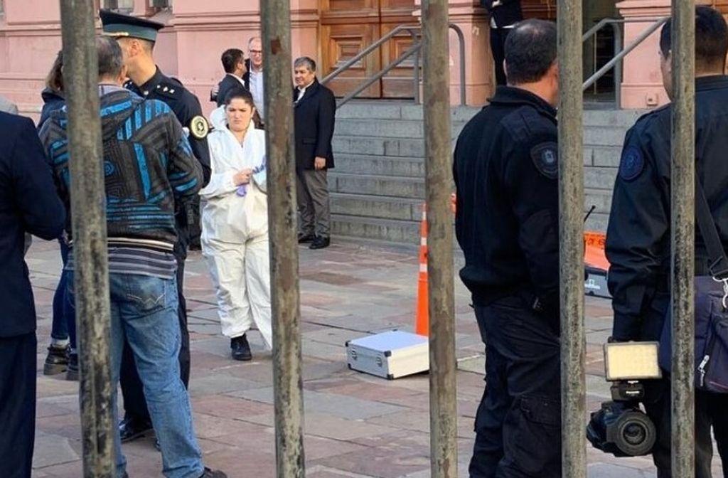 Intentó entrar armado a Casa Rosada y lo apresaron