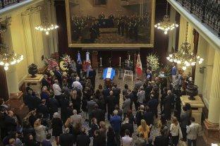 Velaron a Olivares en el Congreso y sus restos fueron trasladados a La Rioja