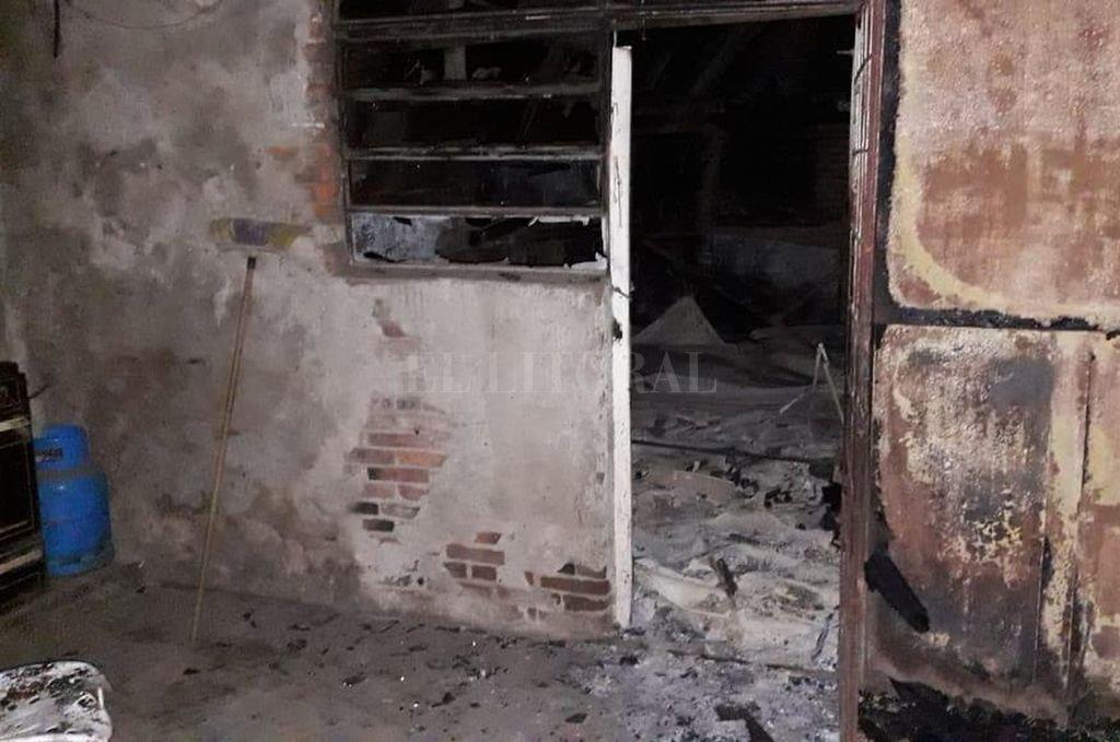 El acusado habría reconocido ante policías que mató a su madre y luego incendió la casa. <strong>Foto:</strong> Agencia Reconquista