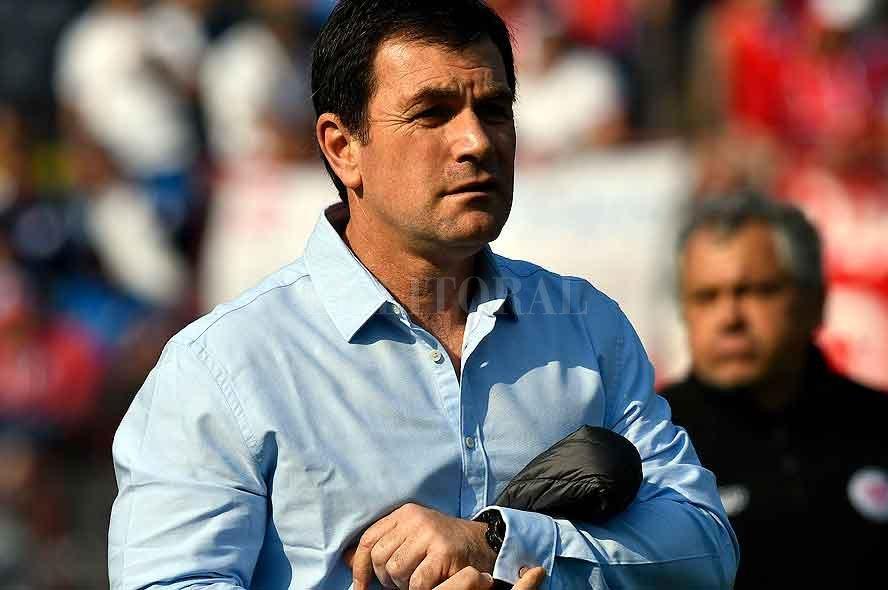 Jorge Giordano, el entrenador del rival de Colón. Crédito: El Litoral.