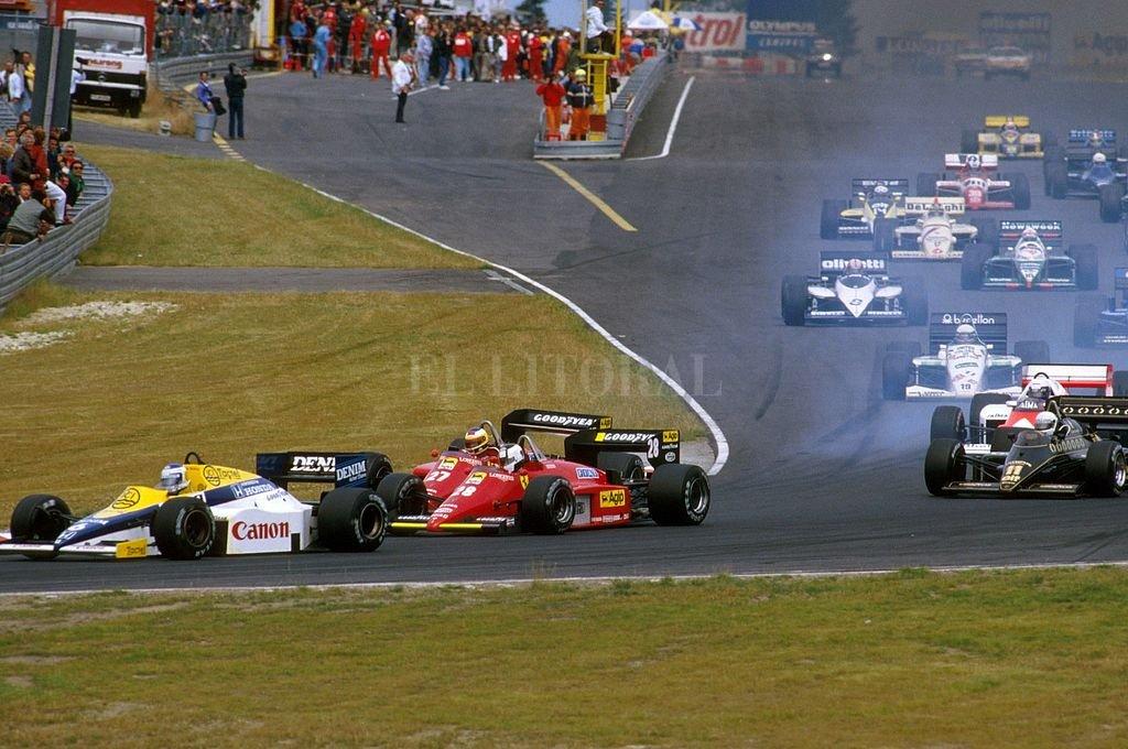 Última presentación de la F1 en Zandvoort, en 1985. <strong>Foto:</strong> Captura digital
