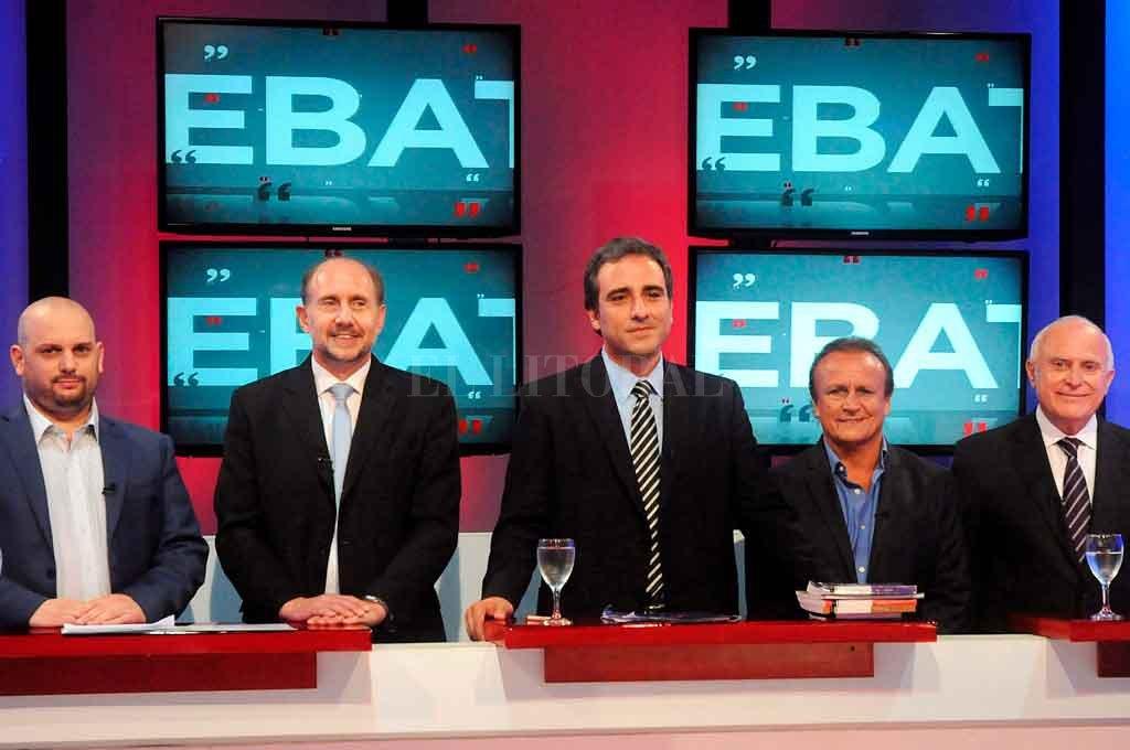 El debate de candidatos de 2015. <strong>Foto:</strong> Archivo