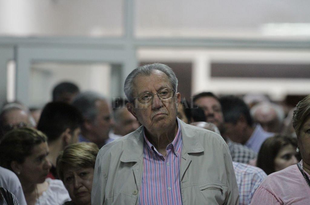 El ex gobernador Víctor Reviglio. <strong>Foto:</strong> Archivo El Litoral - Manuel Fabatía.