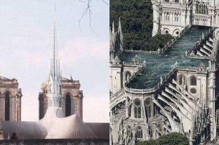 Desde un bosque a una piscina: las propuestas de arquitectos para reconstruir Notre Dame