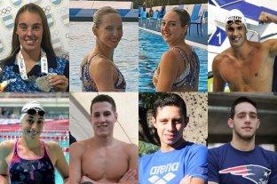 Ocho nadadores santafesinos representarán a la Argentina en los Panamericanos de Lima