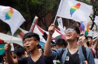 Taiwán se convirtió en el primer país asiático en legalizar el matrimonio igualitario