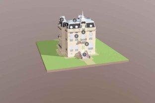 Infografía 3D de la Casa de la Cultura: conocé punto por punto qué se restauró del emblemático edificio