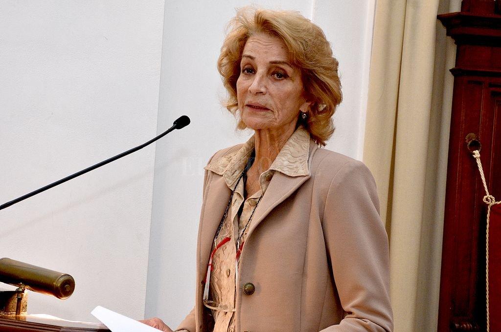 Gastaldi, presidenta de la Corte y por ende presidenta del Tribunal Electoral. <strong>Foto:</strong> Guillermo Di Salvatore