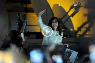 Fernández - Fernández: el video en el que la senadora anuncia la fórmula -