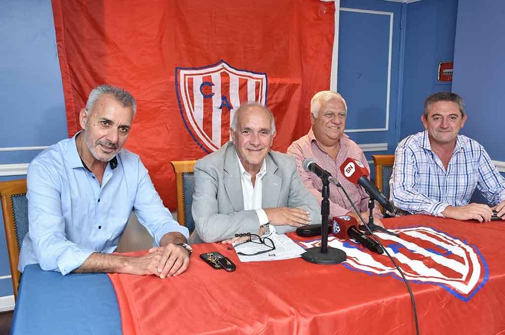 """""""Nos vamos del club pero no de la vida política de Unión"""""""