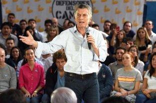 """Macri advirtió que """"volver al pasado sería autodestruirnos"""""""