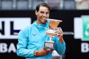 Nadal derrotó a Djokovic y alcanzó su noveno título en Roma -  -