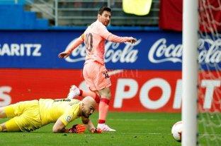 Messi se consagró goleador de la liga española por sexta vez y va por la Bota de Oro -  -