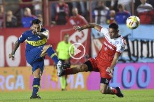 Argentinos y Boca igualaron en la primera semifinal