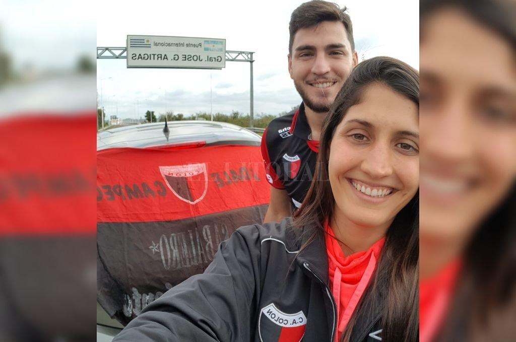 Ya partieron a Uruguay los primeros hinchas Sabaleros