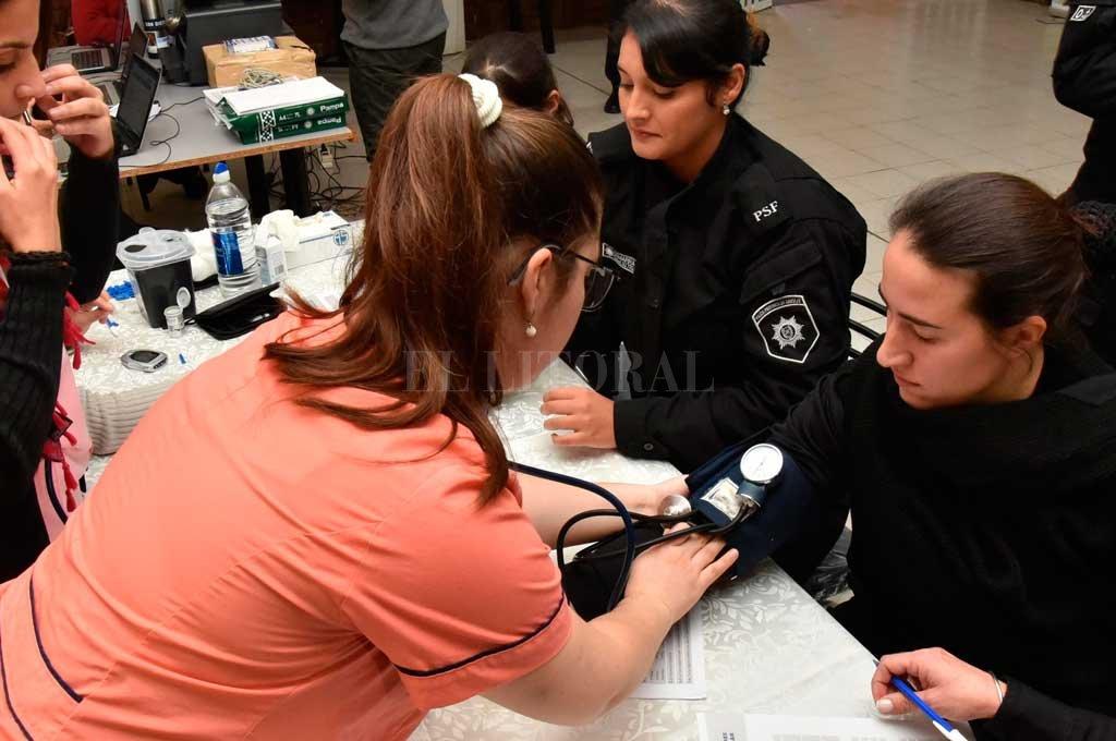 Programa de bienestar y salud para la Policía de la provincia de Santa Fe