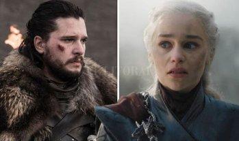 La gran noche de la televisión global - Jon Snow y Daenerys Targaryen: el final de su historia de amor y lucha no fue el que todos esperaban. -