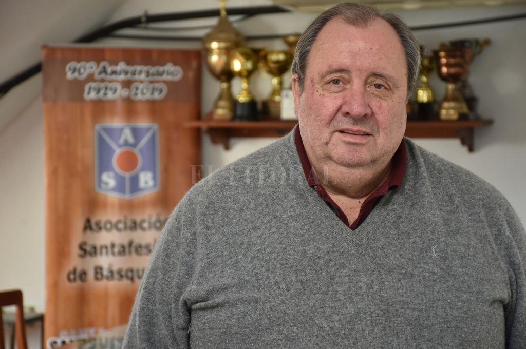 Roberto Monti, titular de la Asociación Santafesina. <strong>Foto:</strong> Flavio Raina