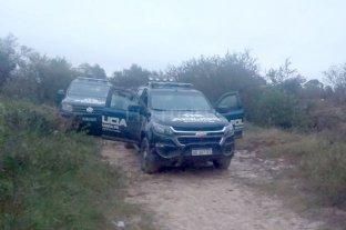 Una mujer fue asesinada en Rincón - Descampado donde apareció el cuerpo de María Carla Morel. -