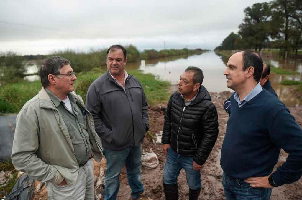 """""""Tenemos un plan hídrico que evitará las inundaciones que hoy vemos en el Norte provincial"""""""