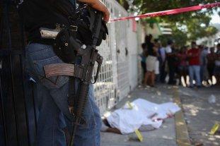 México: Se registraron más de 2.700 homicidios en abril