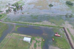 Inundaciones en 9 de Julio: cómo será la obra del canal sobre la Ruta N° 35