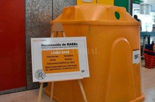 """""""Campanas amarillas"""", los 6 puntos para dejar los residuos electrónicos - Próximamente habrá """"Campanas amarillas"""" en la """"Ciudad Universitaria"""" y la Escuela Industrial Superior."""