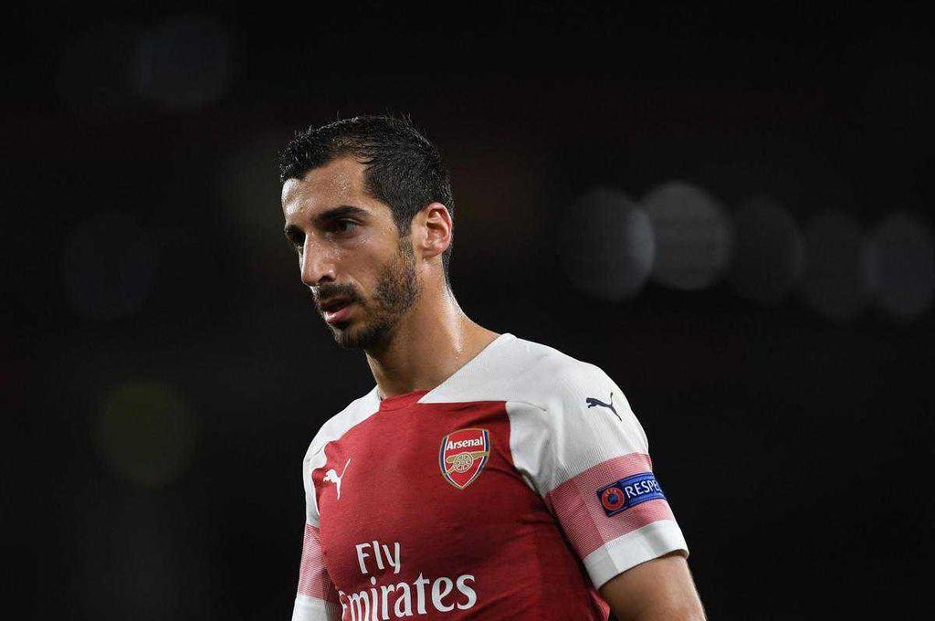 Un jugador armenio del Arsenal no jugará la final de la Europa League por conflicto político