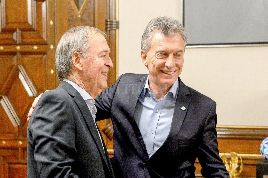 Schiaretti le ratificó a Macri los seis puntos que deben ser contemplados en un acuerdo nacional