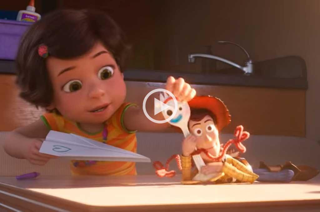 Video: Nuevo adelanto de Toy Story 4