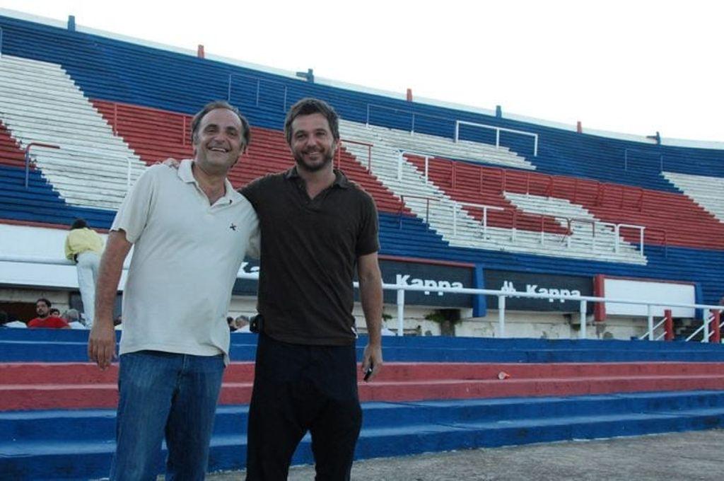 Ezequiel Melaraña, en el estadio de Tigre. <strong>Foto:</strong> Internet