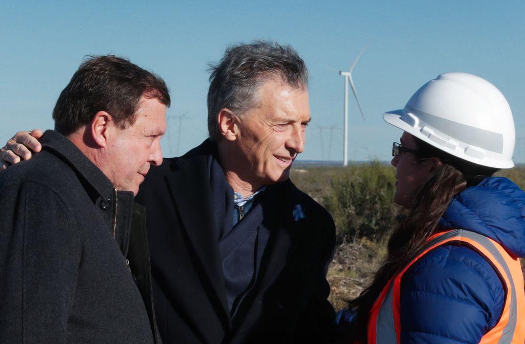 Mauricio Macri visitó Río Negro y reconoció que el momento actual