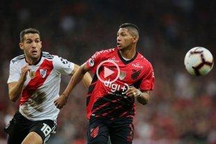 River cayó 1 a 0 con Atlético Paranaense -  -