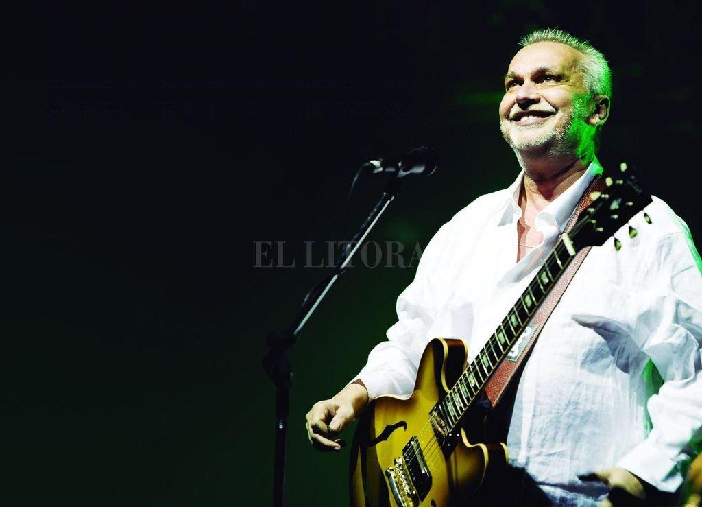 """""""Hay muchas ganas, estamos muy felices con el disco, así que estamos con mucho ánimo, cuenta el ex Serú Girán"""". <strong>Foto:</strong> Gentileza producción"""