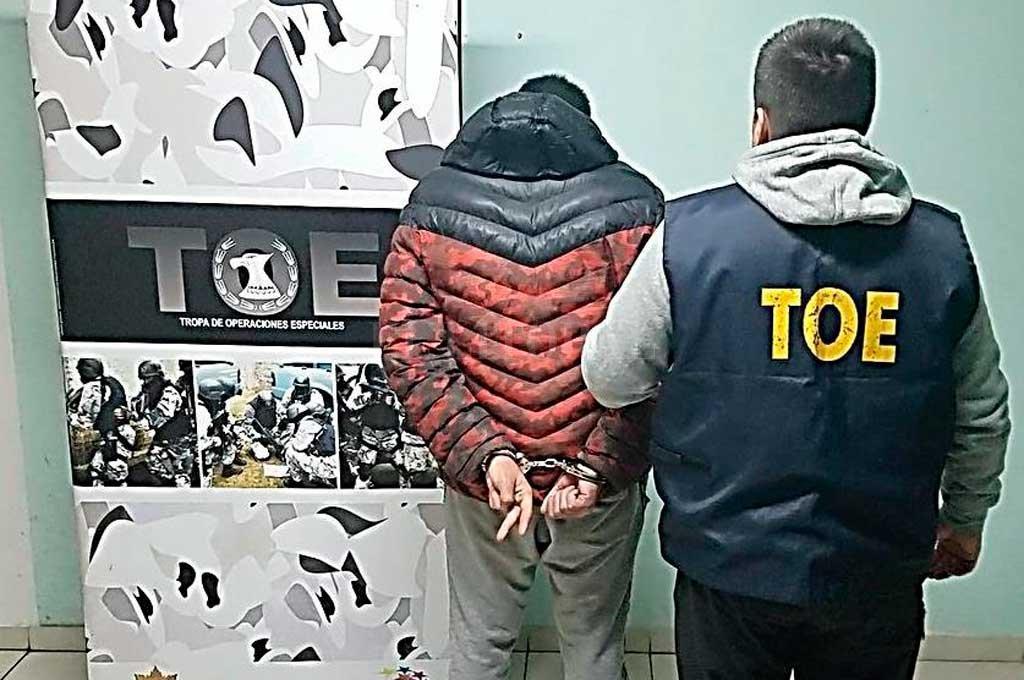 Efectivos del TOE recapturaron a un imputado por un homicidio de 2015