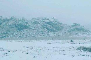 Córdoba: la nevada en las Altas Cumbres en fotos