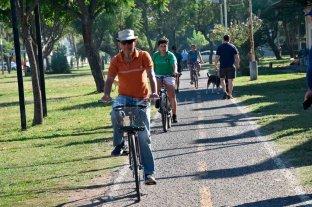 La asociación Parque Federal busca el compromiso de los candidatos locales - Bicisenda. Entre los pedidos remarcan la necesidad de agregar una vereda peatonal para que la bicisenda sea exclusiva para ciclistas.  -