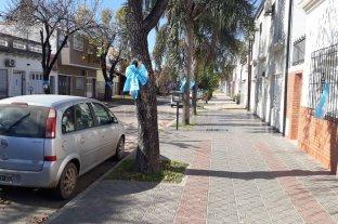 Los vecinos de Domingo Silva al 1700 ya están listos para celebrar el Día de la Patria -  -