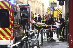 13 heridos en una explosión en el centro de Lyon
