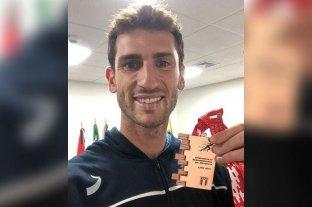 Germán Chiaraviglio no pudo retener su título sudamericano