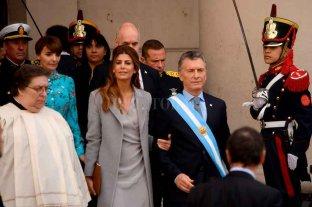 Macri participó del tradicional Tedeum en la Catedral Metropolitana -  -