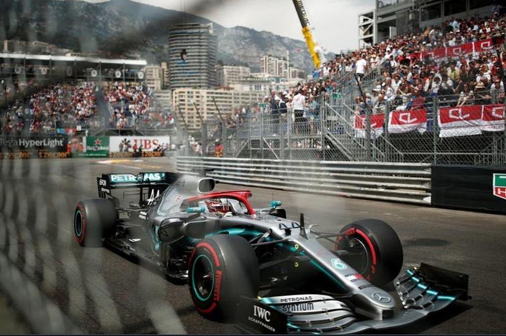 Pole para Hamilton en Mónaco