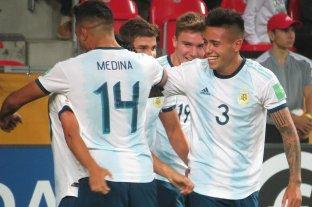 Mundial Sub 20: Argentina debutó con una goleada -  -