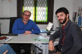 """""""En Santa Fe estamos en condiciones de erradicar el trabajo infantil"""" - Guillermo Cherner y Pablo Ronchi, en el Ministerio de Trabajo de la provincia, ámbito de aplicación del programa """"Offside"""". -"""