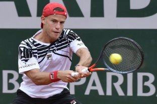 Schwartzman debutó en Roland Garros con un triunfo en cinco sets -  -